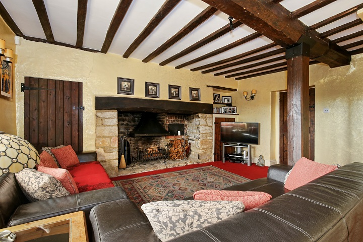 Just Looking At This Fireplace Makes Us Feel Farm. This Characterful Stone  Fireplace Was Once Used To Heat The Entire Property   A Beautiful Grade II  Listed ...