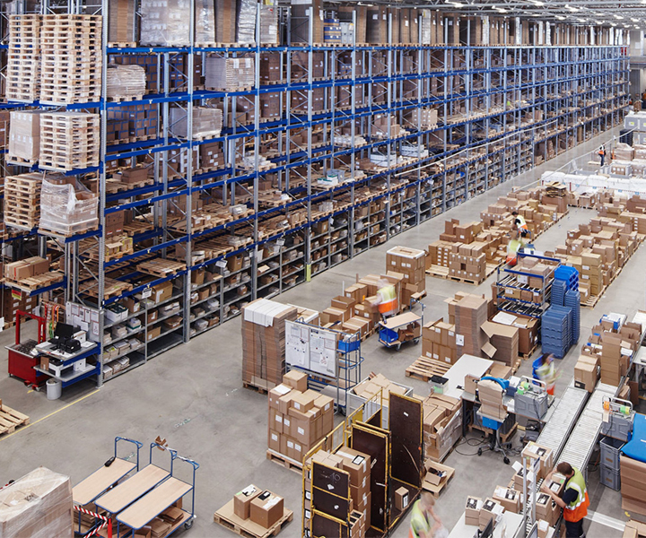 Warehousing potential in fast-moving consumer goods industry