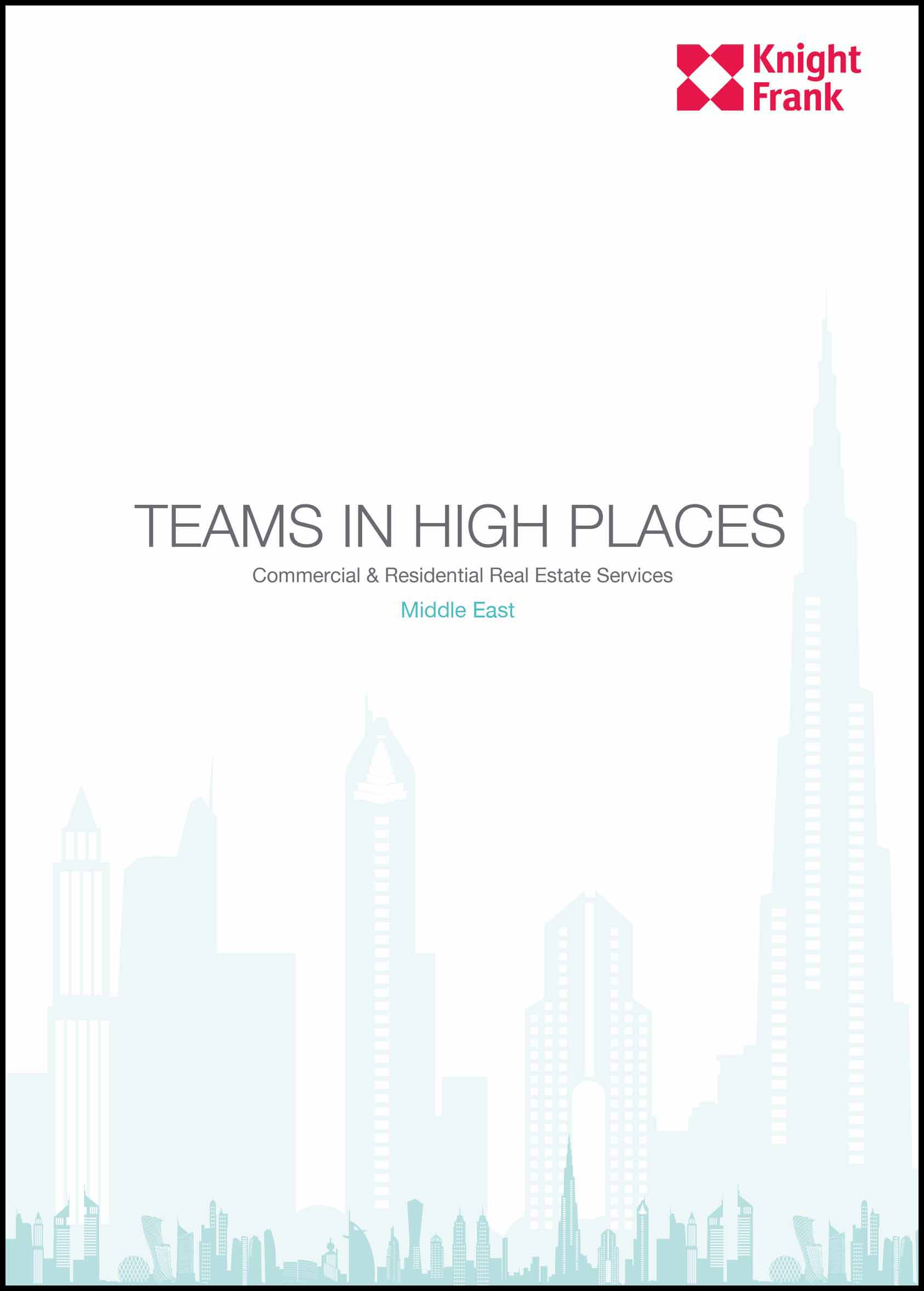 Teams and High Places