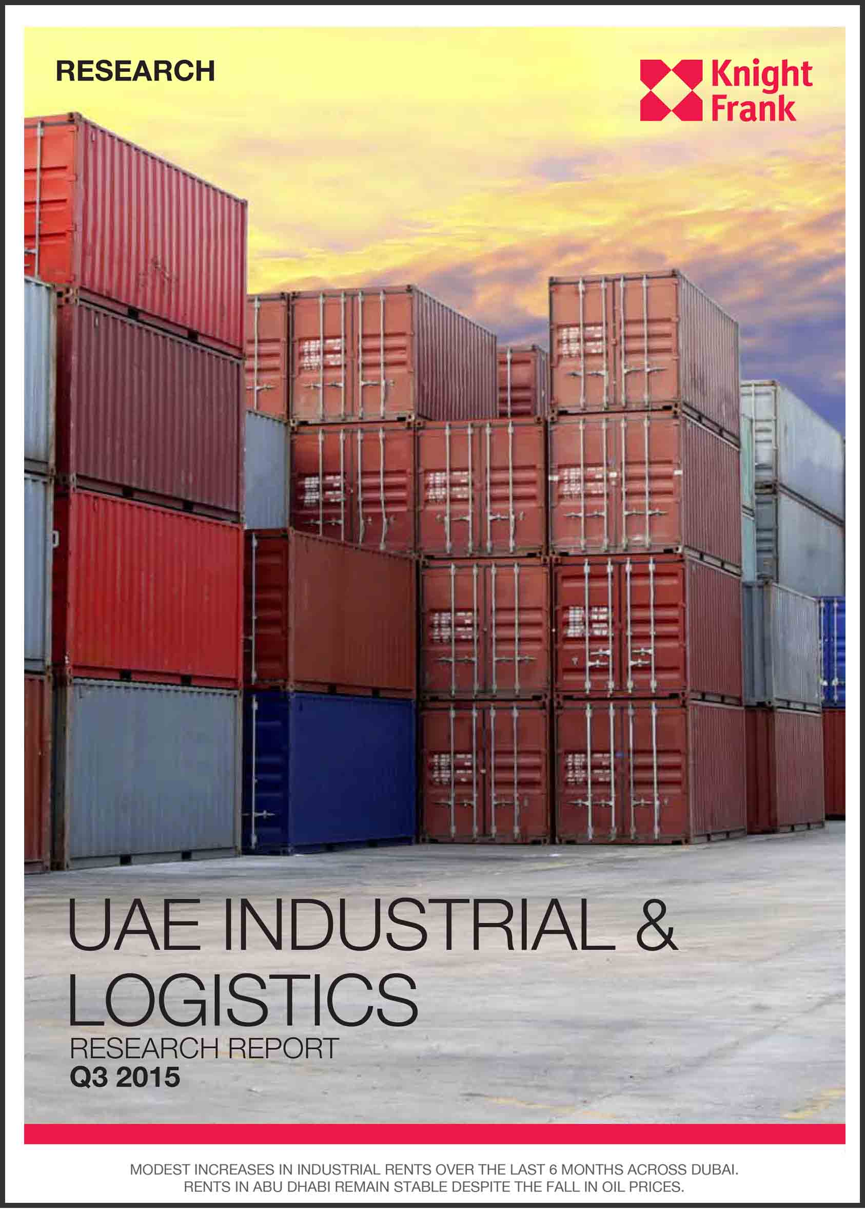 UAE Industiral & Logistics Research Report Q3 2015