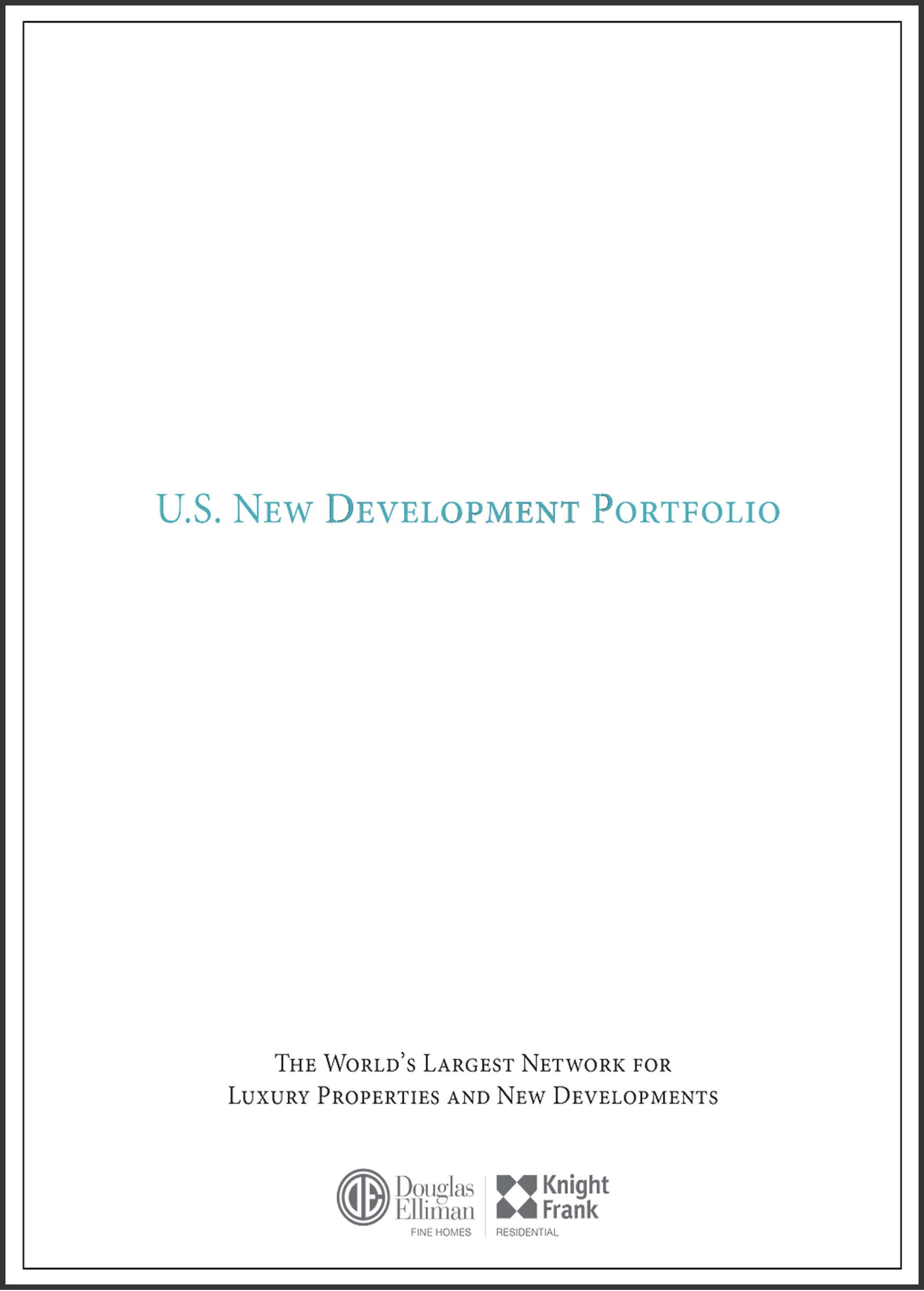 U.S. New Development Portfolio
