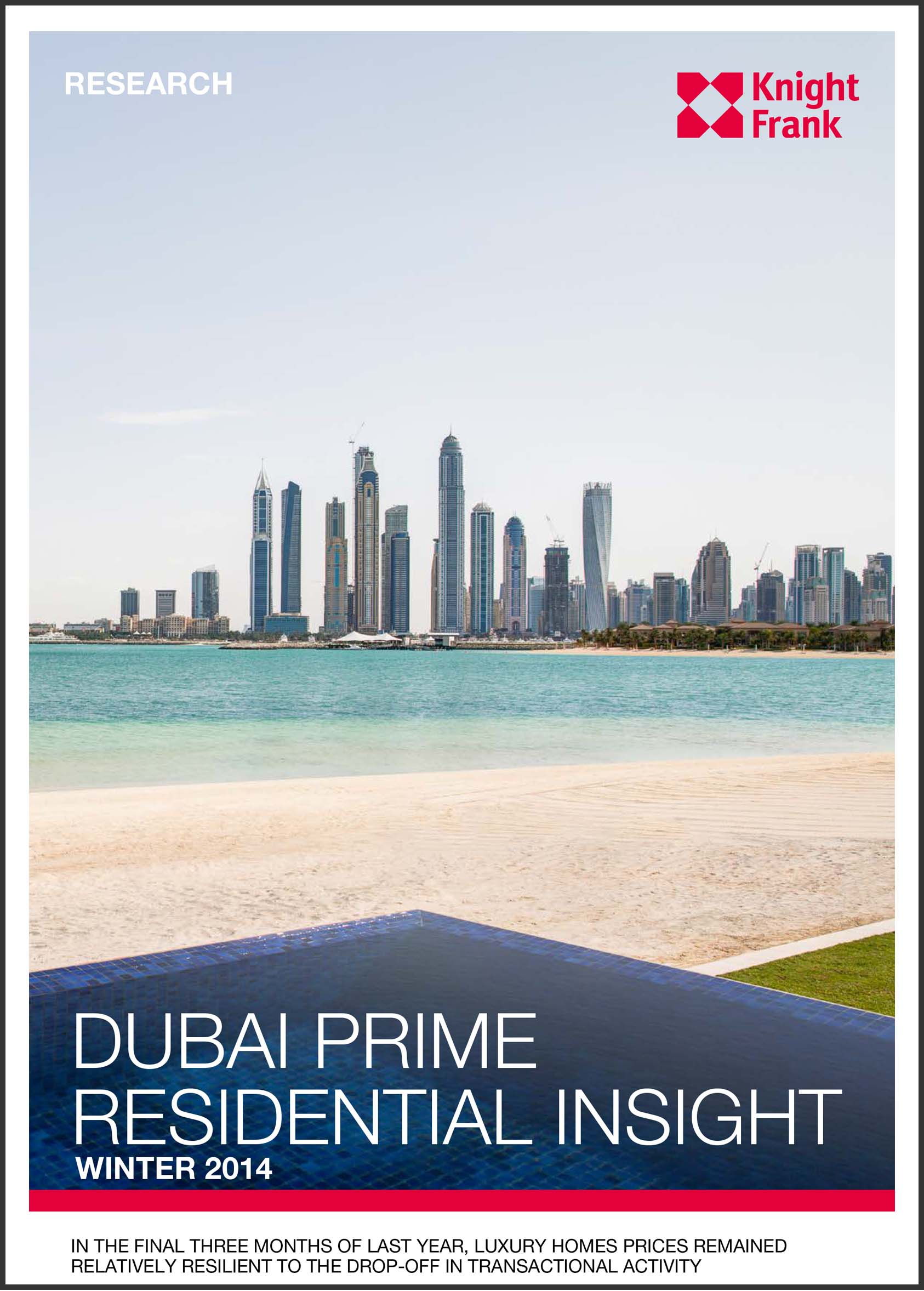 Dubai Prime Residential Insight Winter 2014