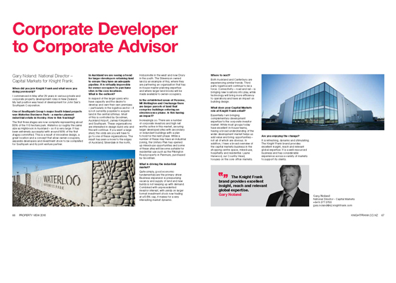EDITORIAL: From Corporate Developer to Corporate Advisor