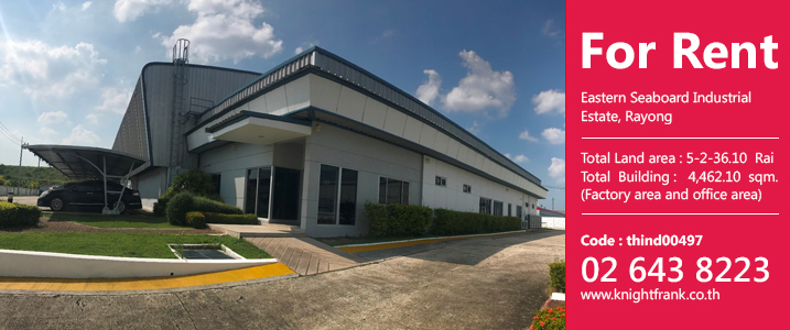 Factory for rent in Eastern Seaboard Industrial Estate, Rayong
