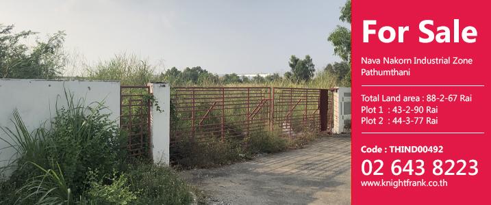 ขายที่ดินในพื้นที่อุตสาหกรรมนวนคร จังหวัดปทุมธานี