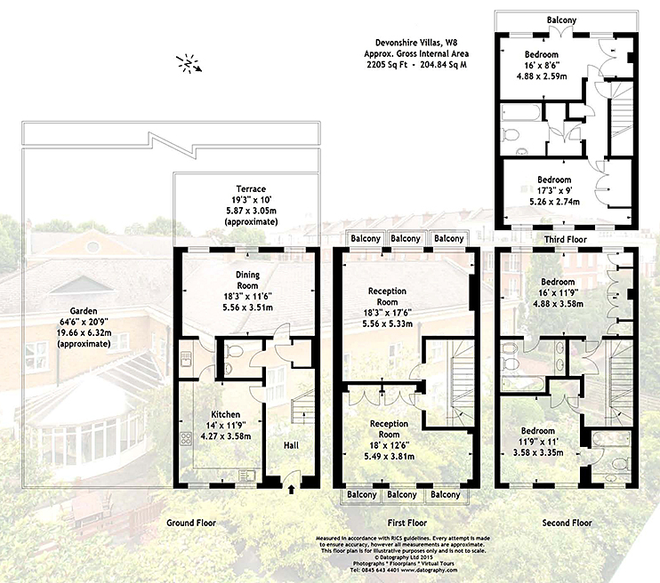 Devonshire place kensington green london w8 knight frank for Devonshire floor plan