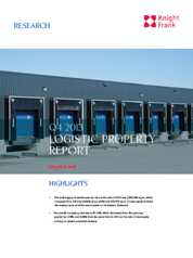 Thailand Industrial & Logistics Property Report Q4 2013