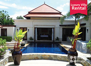 Holiday Luxury Pool Villa with 4 Br Near Phuket's Laguna for Rent