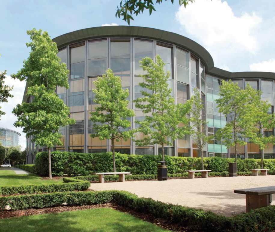 5 The Square, Stockley Park - 75,000 sq ft (To Lease)  Delivered  Q2 2016, Client: M&G Real Estate & Oxygen Asset Management
