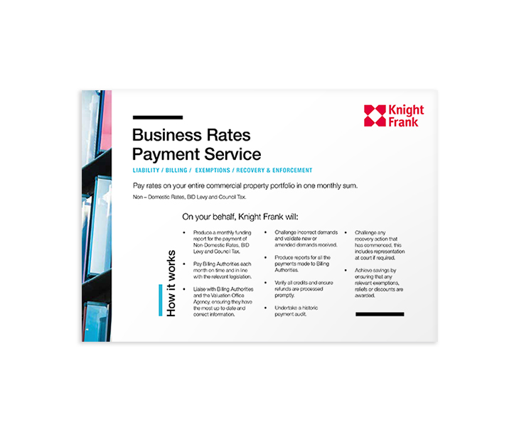 Business Rates Payment Service
