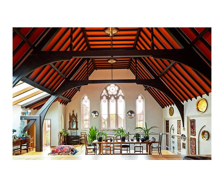 Completely unique 3 bedroom church for sale in Hampton Court