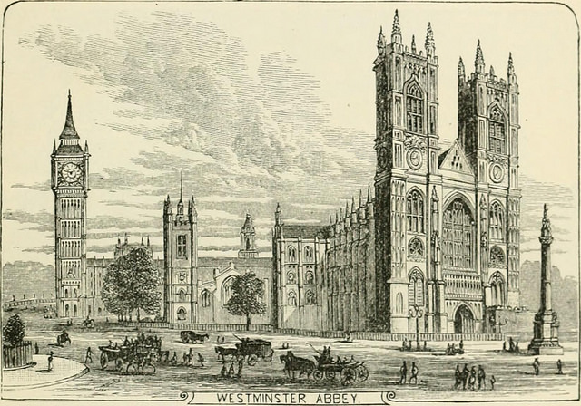westminster abbey 1885
