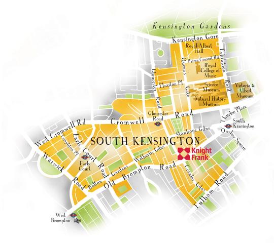 South Kensington London Map.Living In South Kensington Knight Frank Uk