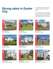 Exeter City Exceptional Sales
