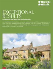 Exceptional Results in Stow and Cotswolds