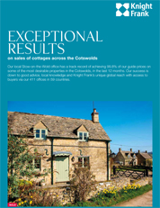 Exceptional Results on Cottage sales