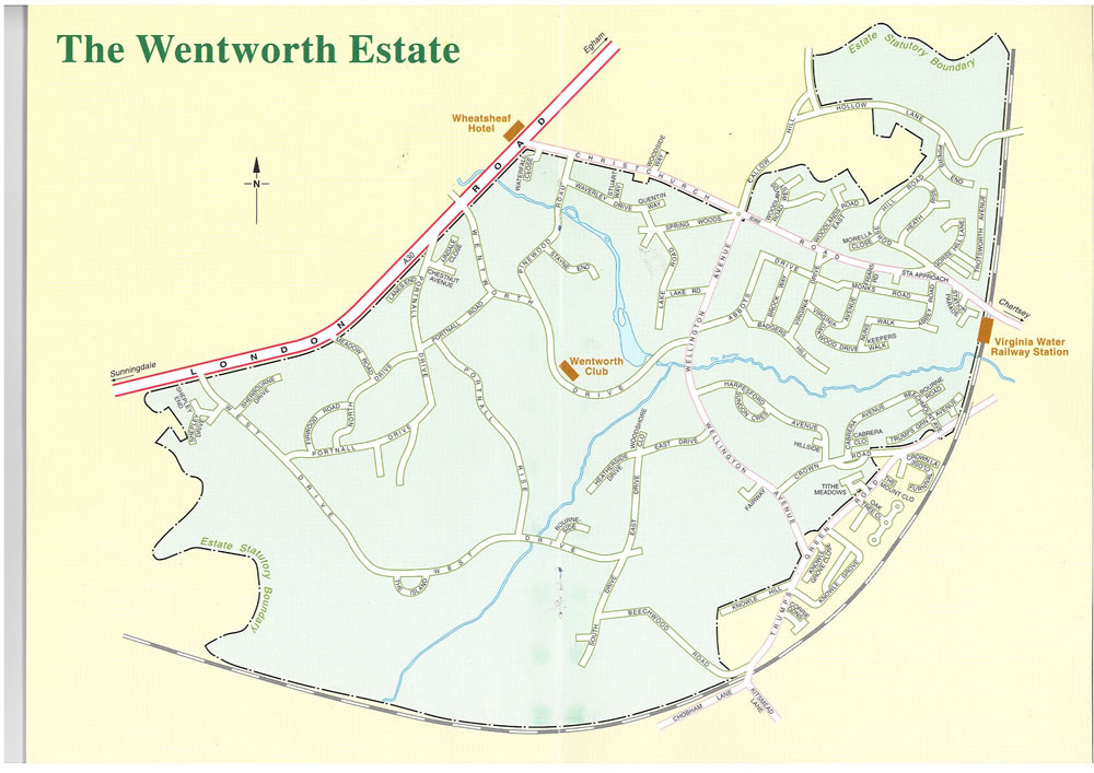 Wentworth Estate Map