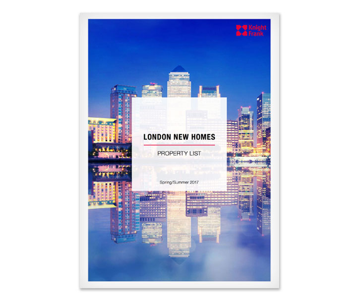 London New Homes Property List