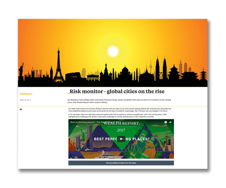 Risk Monitor - Global cities on the rise