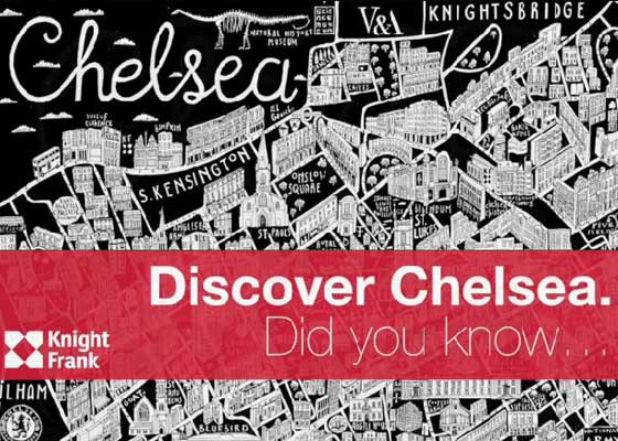 Follow our film to find out fun filled facts from around Chelsea.
