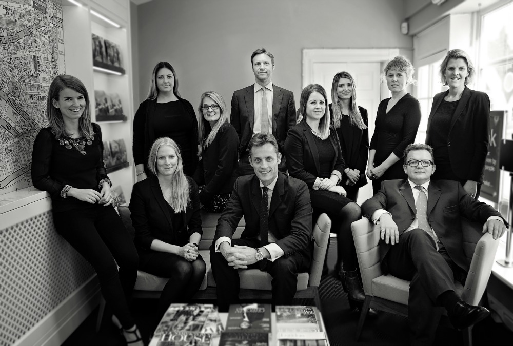 The team at Knight Frank Belgravia Estate Agents