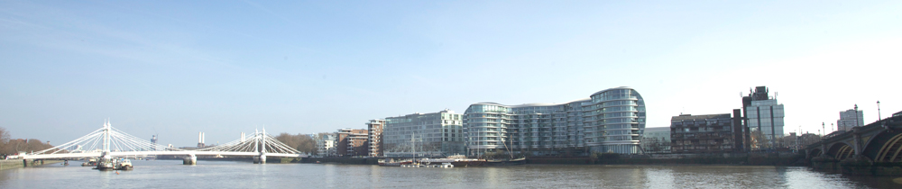 property on the thames