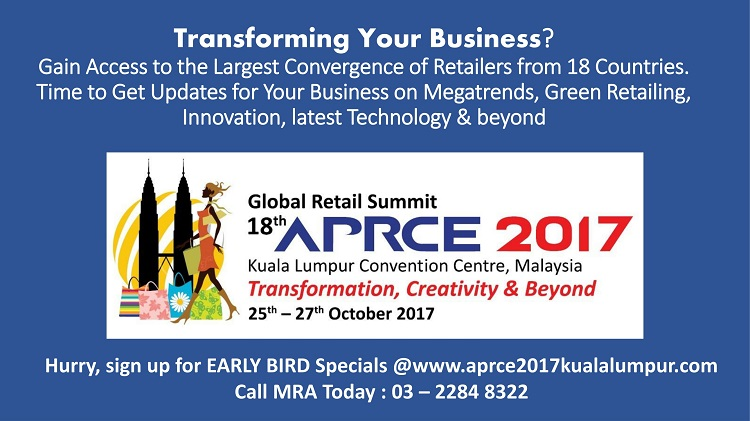 18th Asia-Pacific Retailers Convention & Exhibition (APRCE) 2017