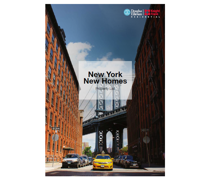 New York New Homes Property List 2018