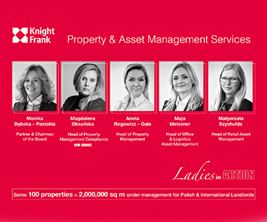 Further specialization and new service in the Property Management department at Knight Frank.