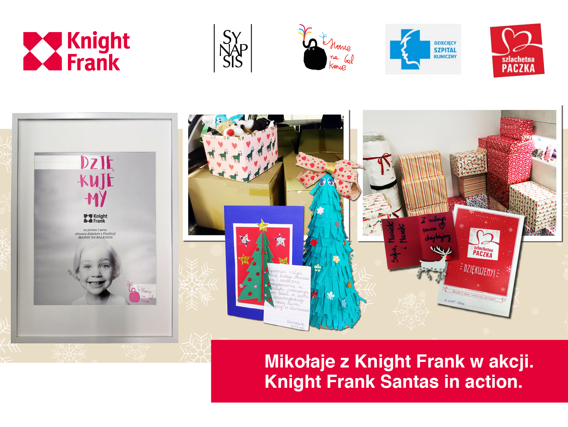 Knight Frank shows true Christmas colours