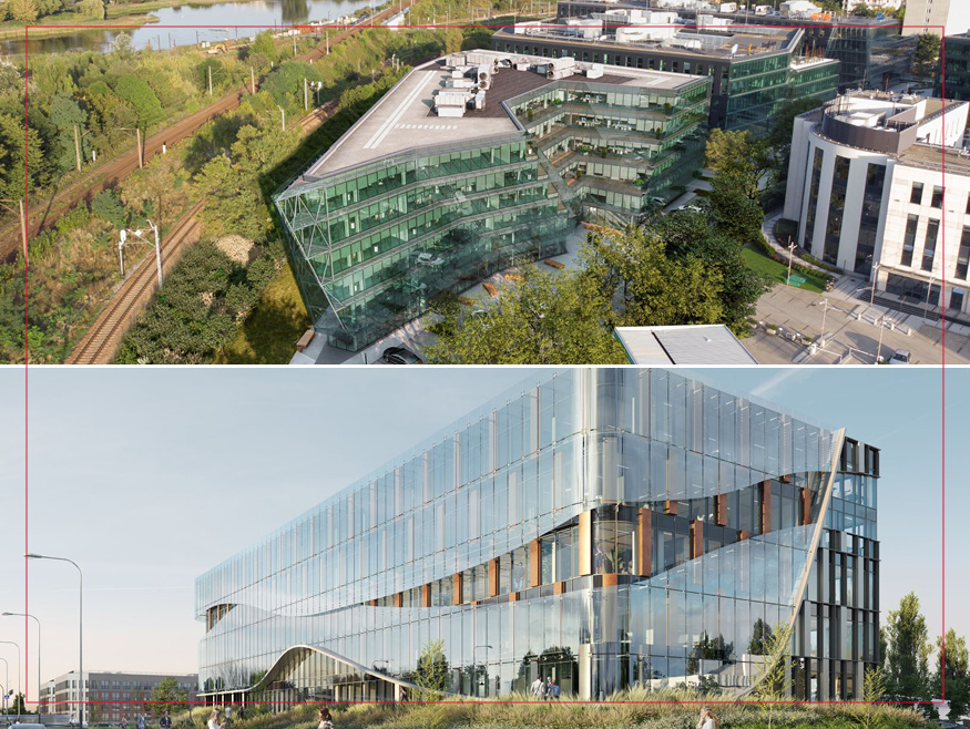 Two more office buildings commercialised by Knight Frank