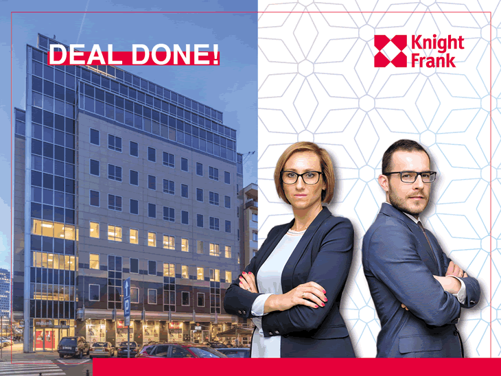 Knight Frank advised Raiffeisen Immobilien KAG in the acquisition of WCC in Warsaw