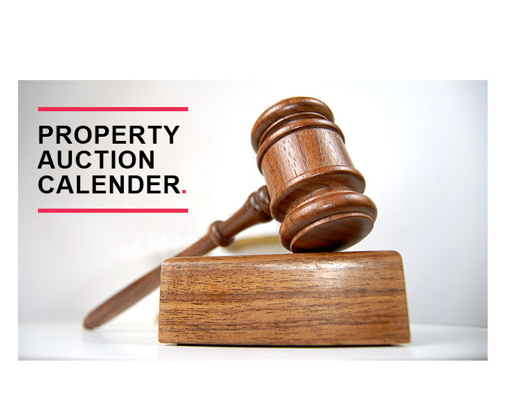 Property Auction Calendar