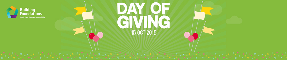 Knight Frank day of giving 2015