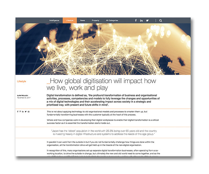 Global Digitisation