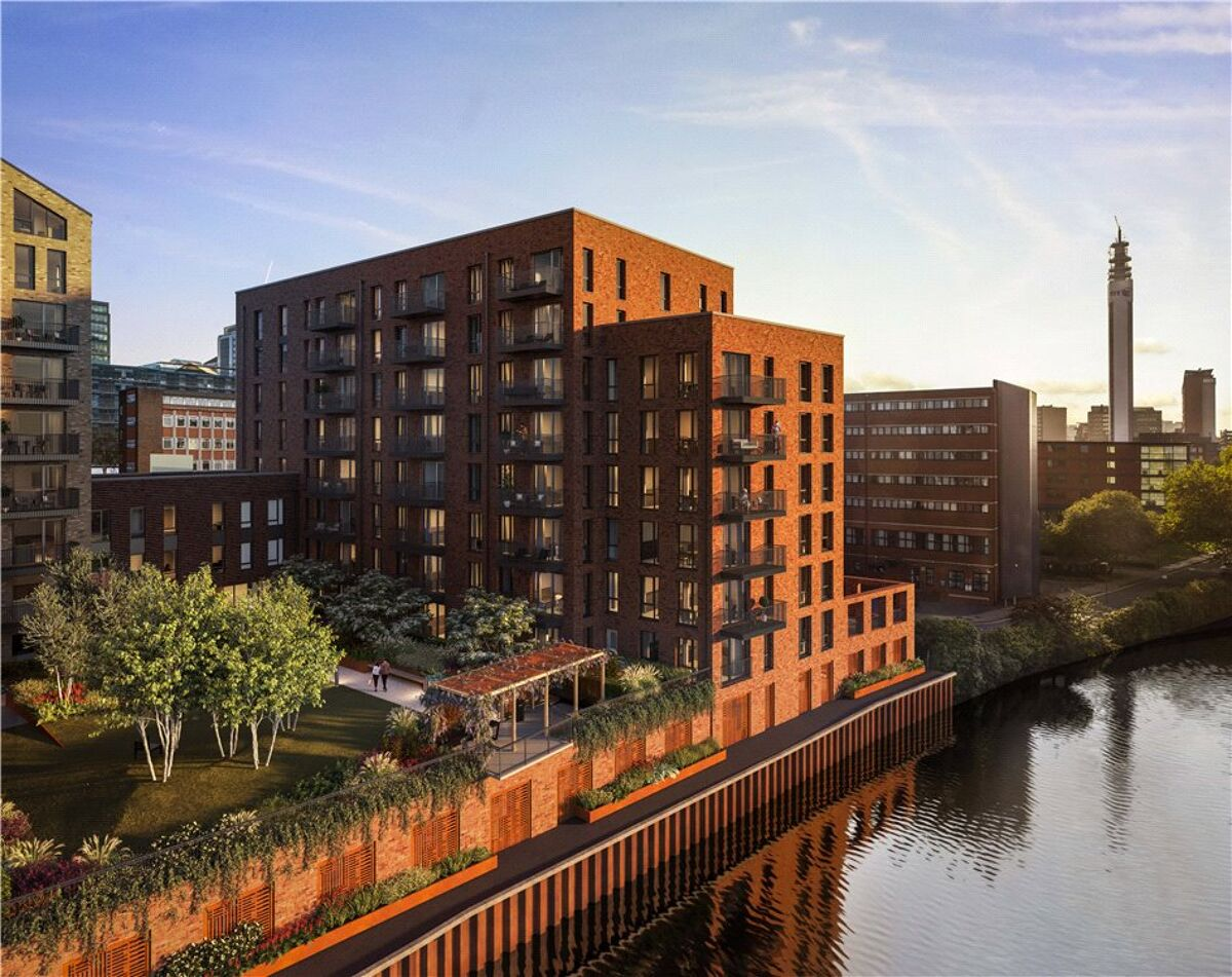 flat for sale in Snow Hill Wharf, Shadwell Street ...