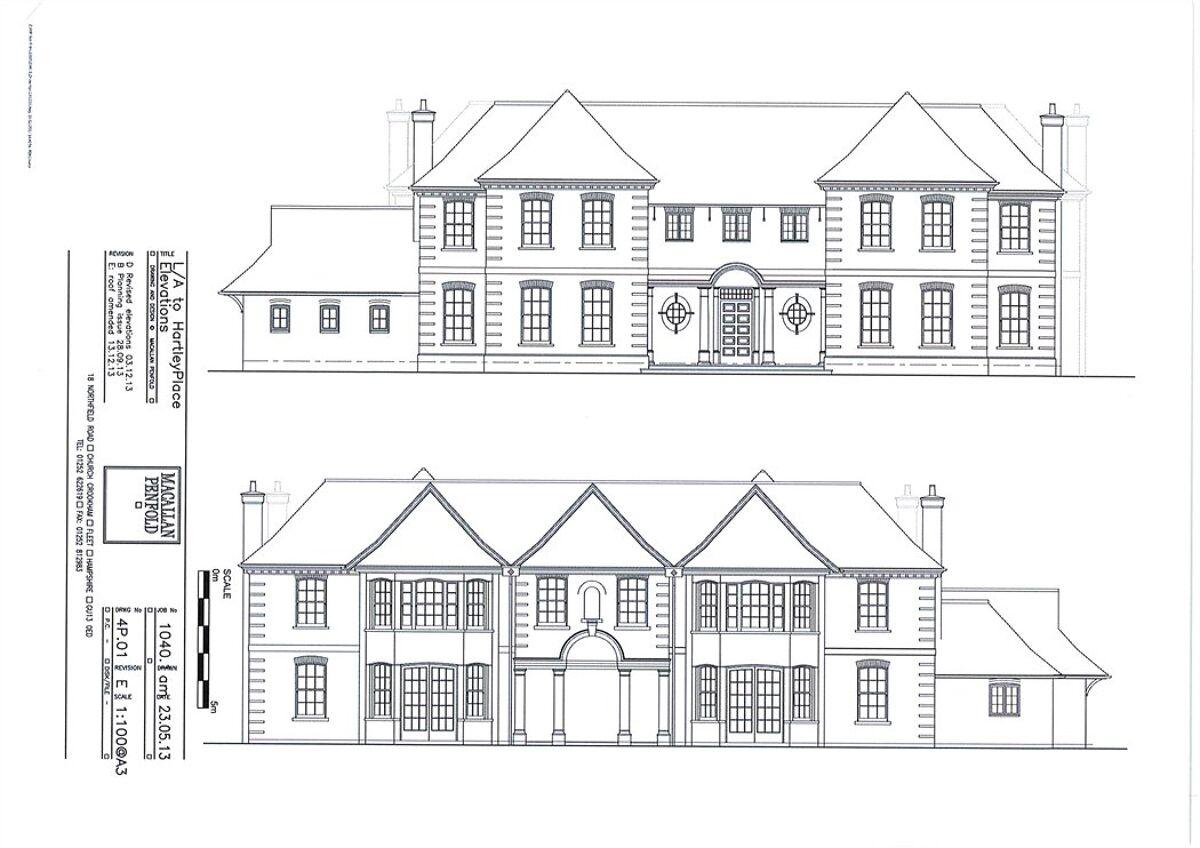 development plot for sale in Thackhams Lane, Hartley
