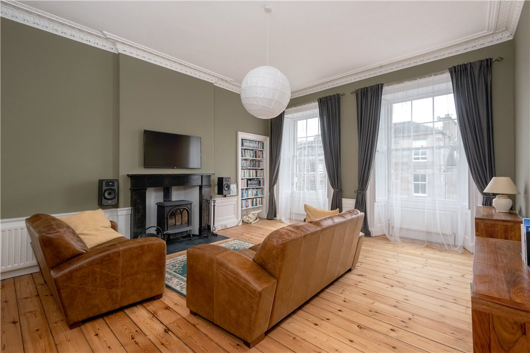 3 Bedroom Flat For Sale In Saxe Coburg Street, Edinburgh, Midlothian, EH3