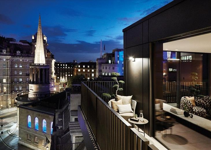 Great Portland Street London W1W Guide Price 5450000 The Penthouses At 79 83 Offer A Rarefied Living Experience In Heart Of