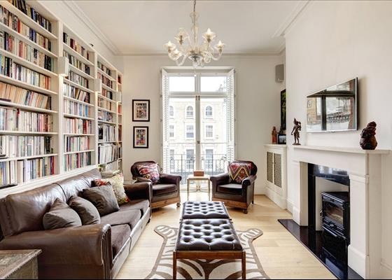 Prince Edward Mansions, Moscow Road, Notting Hill, London, W2