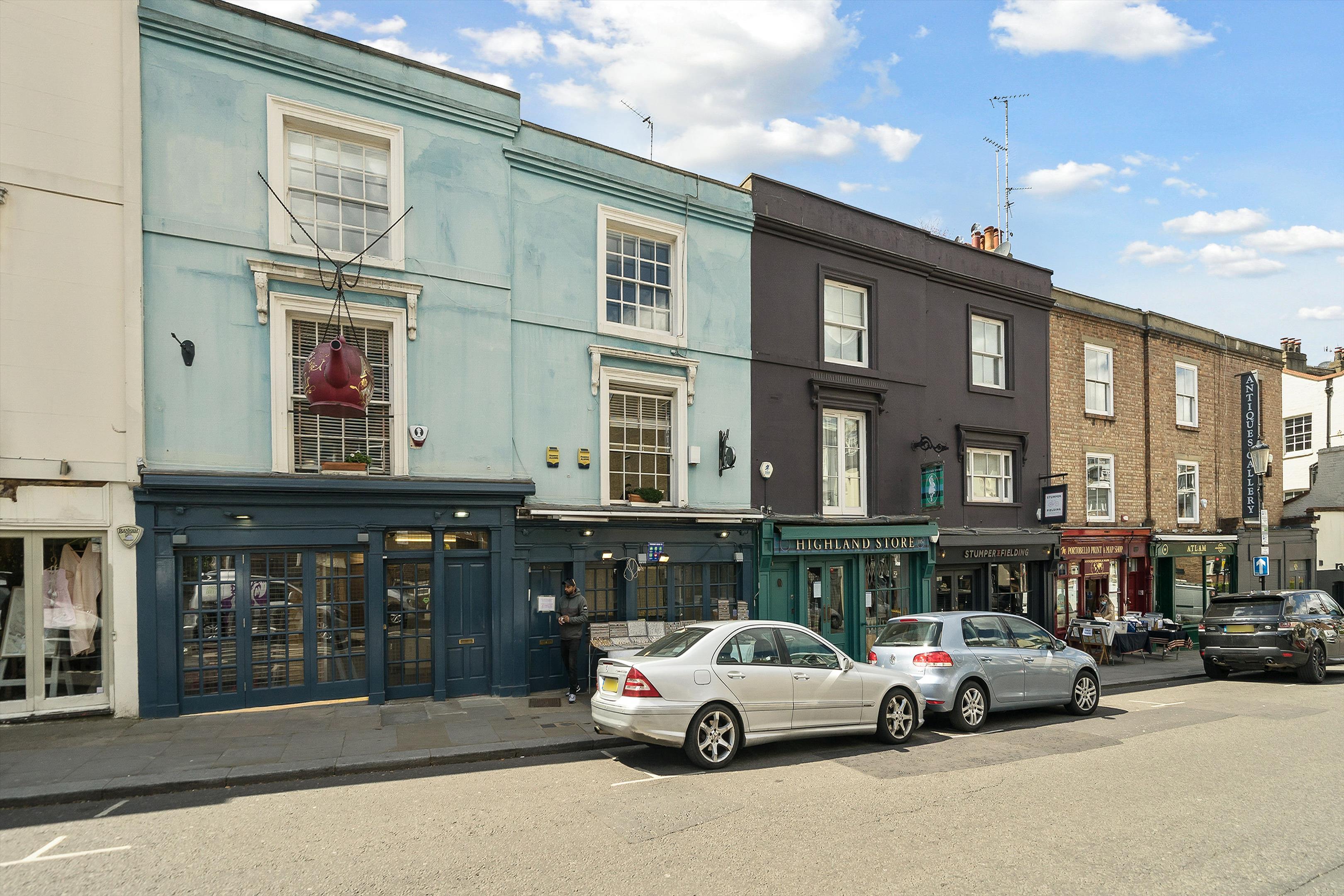 Portobello Rd, London W11, UK - Source: Knight Frank