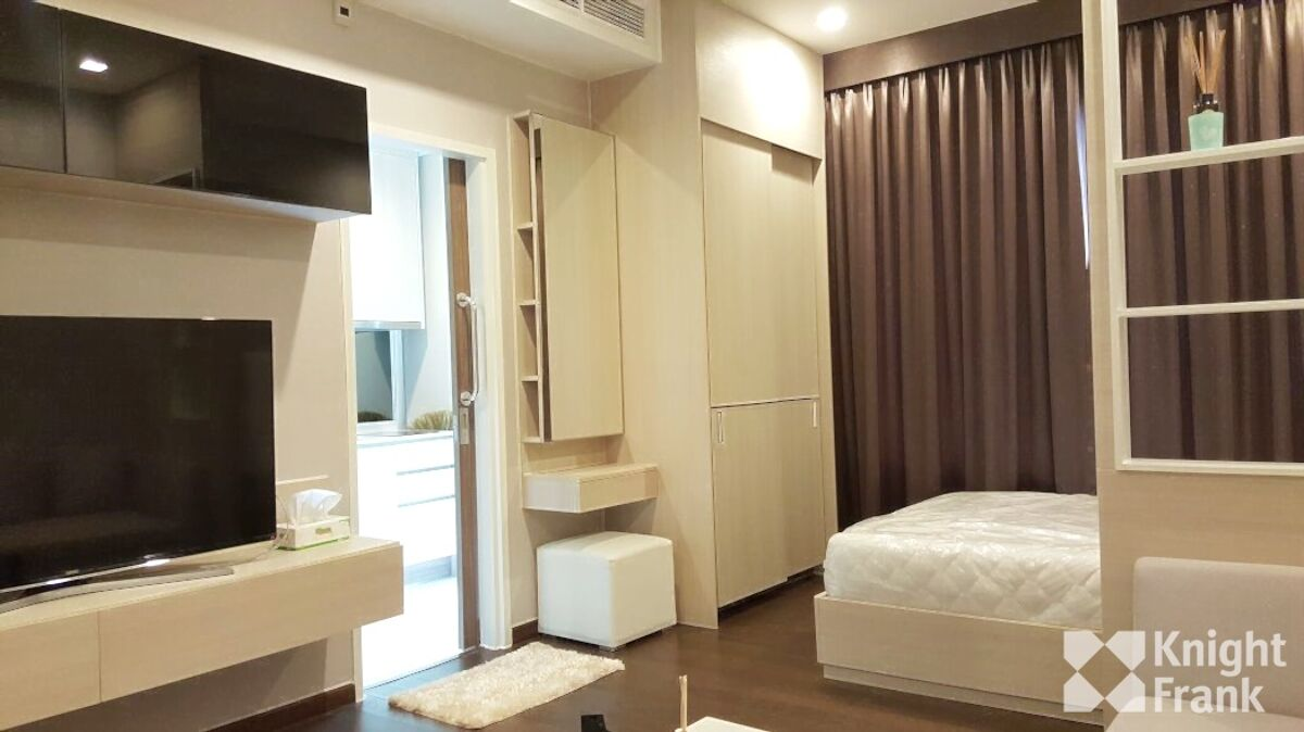 Condominium For Sale In Q Asoke Ready To Move In Studio Unit 30 Sqm With City View Thrsph4123 Knight Frank