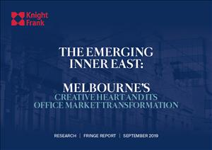 Melbourne Fringe Office MarketMelbourne Fringe Office Market - The Emerging Inner East - September 2019