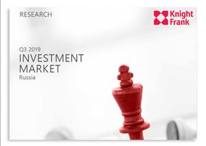 Moscow Investment MarketMoscow Investment Market - Q3 2019